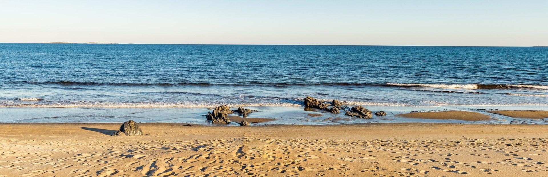 Maine vacation rental, Old Orchard Beach, ocean scene, Maine.